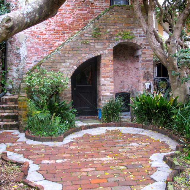 Charleston Courtyard Charm