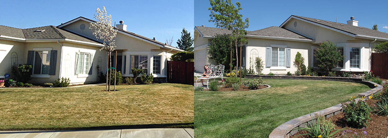 partial lawn replacement tehachapi