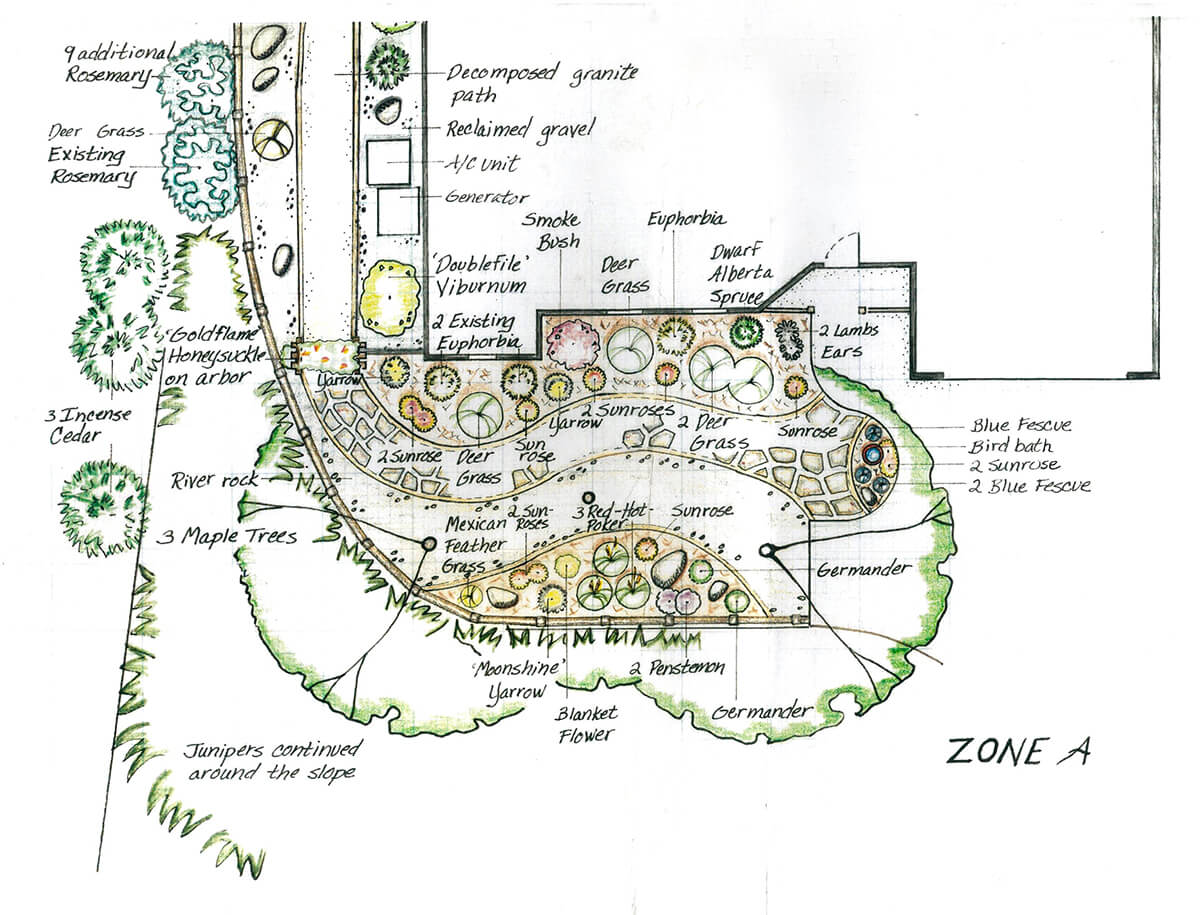 bear valley landscape plan